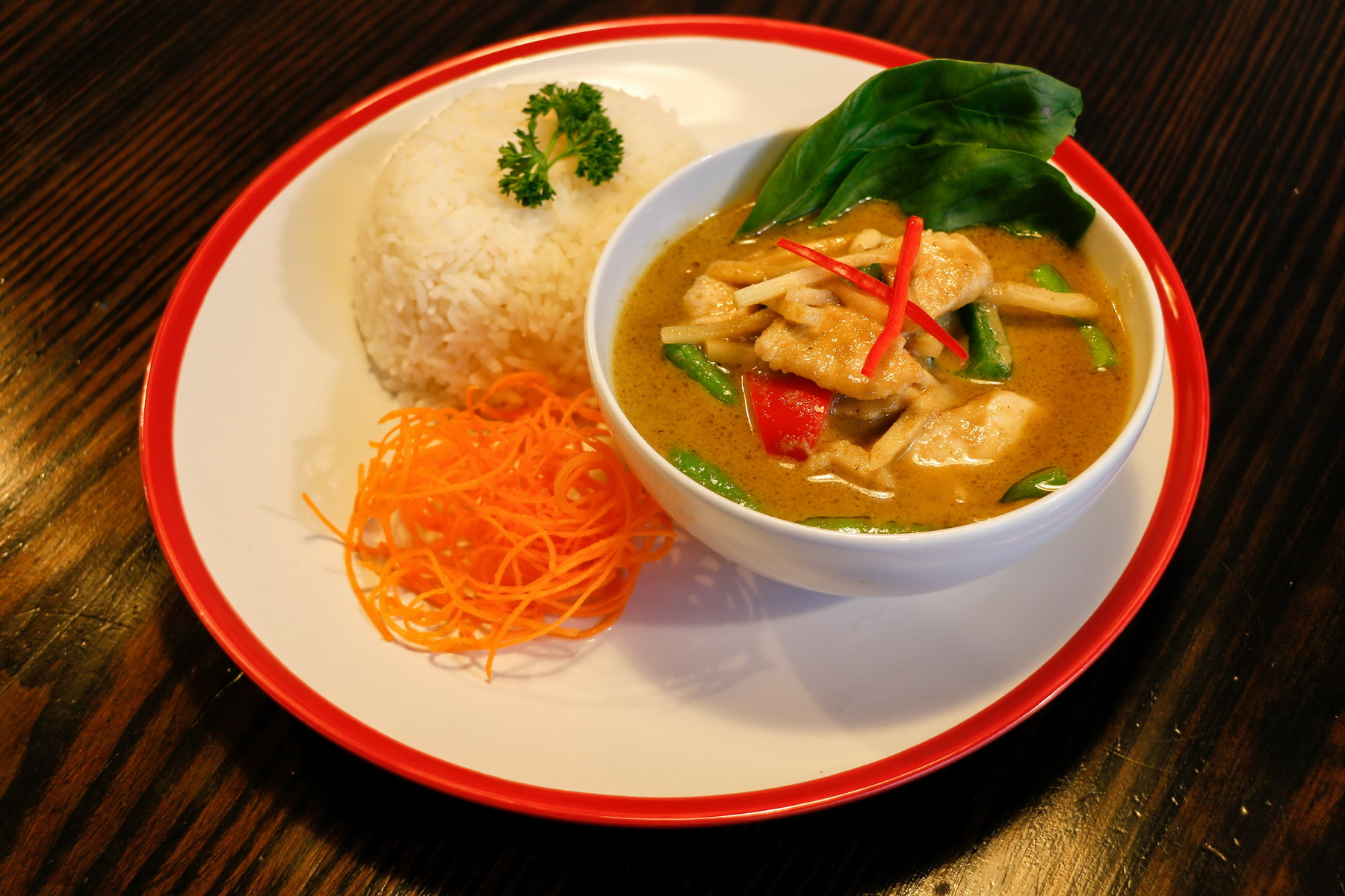 Baan Thai Kitchen we offer a wide range of Thai Singapore and