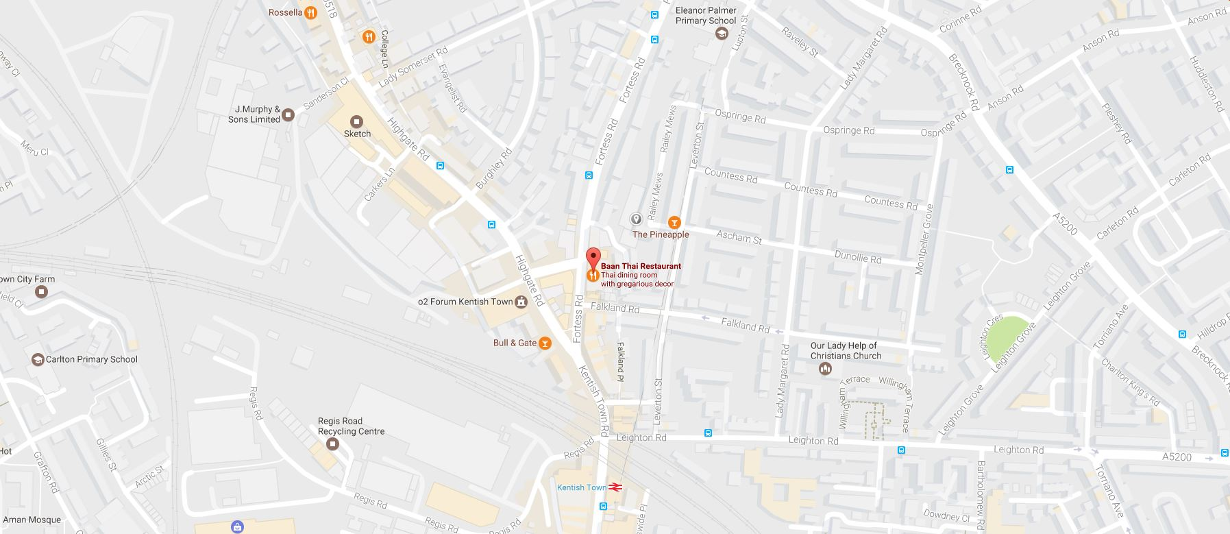 Thai Restaurant Holloway Road